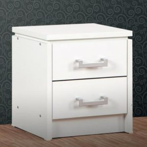 Charles White 2 Drawer Bedside Chest