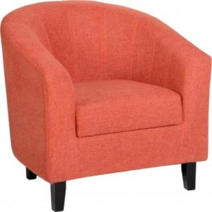 Tempo Orange Tub Chair