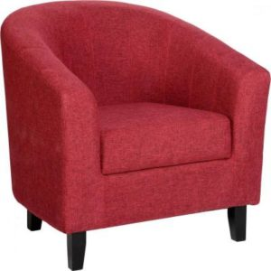 Tempo Red Tub Chair