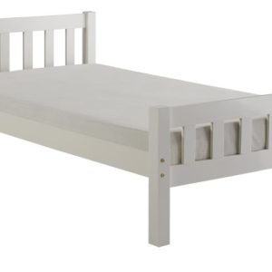 Carlow 3ft White Bed