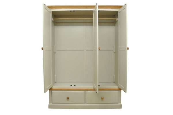 DG 3 Door 2 Drawer Wardrobe