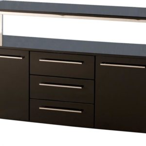 Charisma Sideboard in Black Gloss