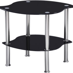 Colby Lamp Table in Black