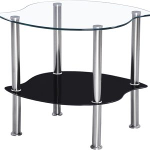 Colby Lamp Table in Clear
