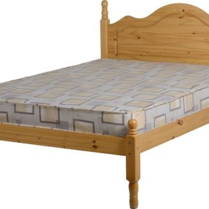Sol Bed in Antique Pine