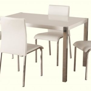 Charisma 4' Dining Set in White