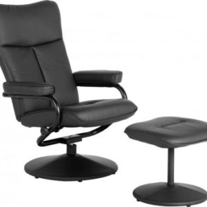 Kansas Recliner Chair with Footstool 2