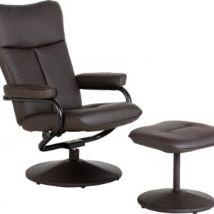 Kansas Recliner Chair with Footstool