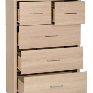 Lisbon 3 2 Chest in Light Oak 2