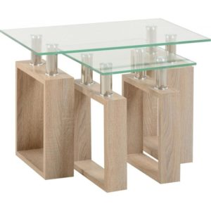Milan Nest of 2 Tables