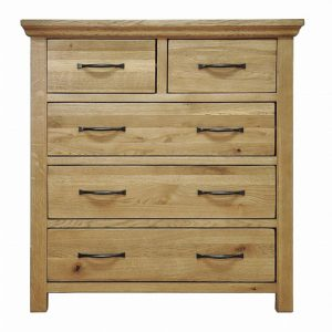 Wansford Oak 2 + 3 Chest Of Drawers