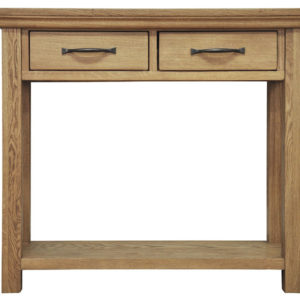 Wansford Oak Console Table