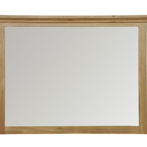Wansford Oak Large Wall Mirror